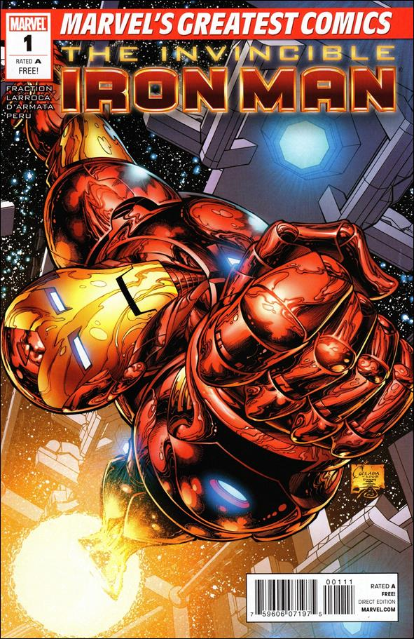 Invincible Iron Man (2008) 1-N by Marvel