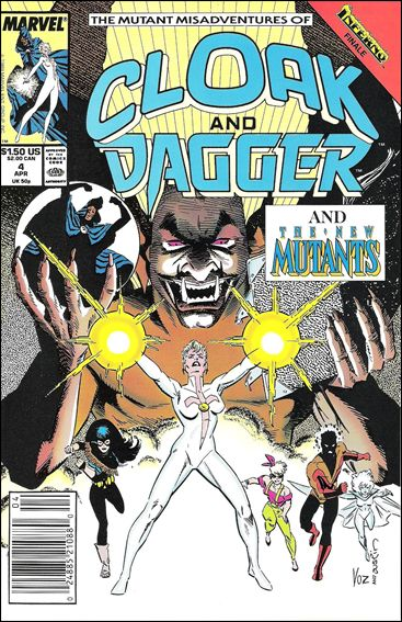 Mutant Misadventures of Cloak and Dagger 4-A by Marvel