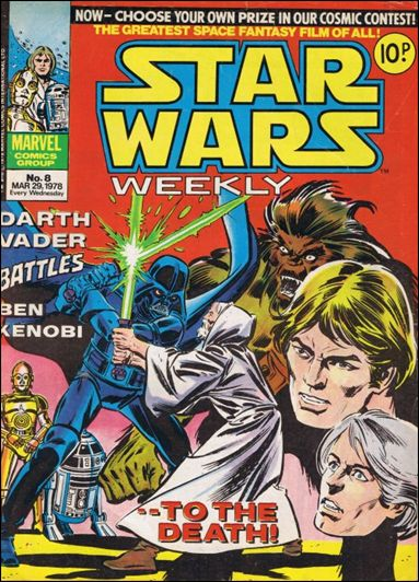 Star Wars Weekly (UK) 8-A by Marvel UK