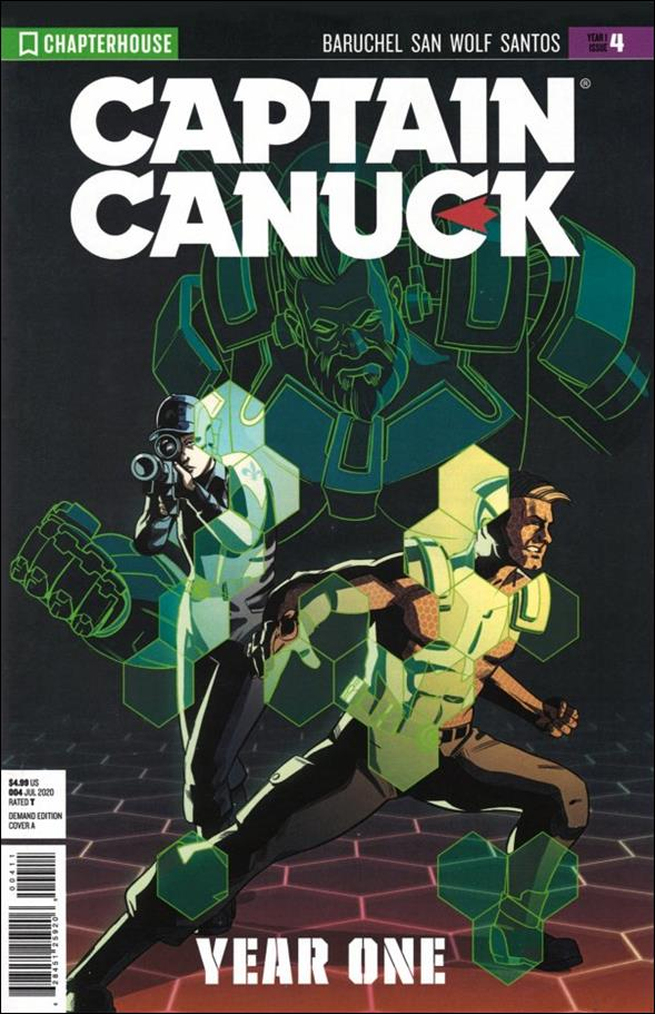 Captain Canuck: Year One 4-A by Chapterhouse Comics