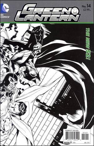 Green Lantern (2011) 14-D by DC