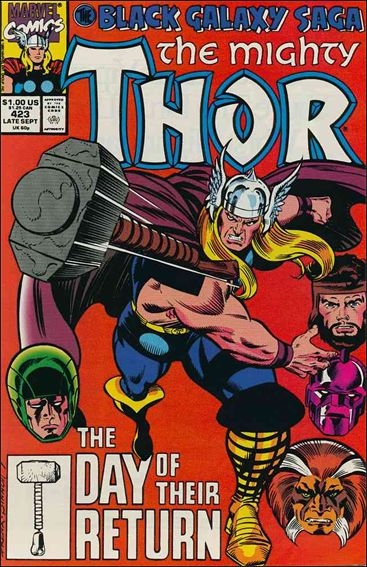 Thor (1966) 423-A by Marvel