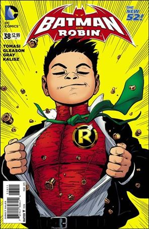 Batman and Robin (2011) 38-A