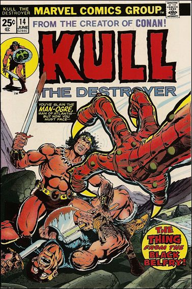 Kull the Destroyer 14-A by Marvel