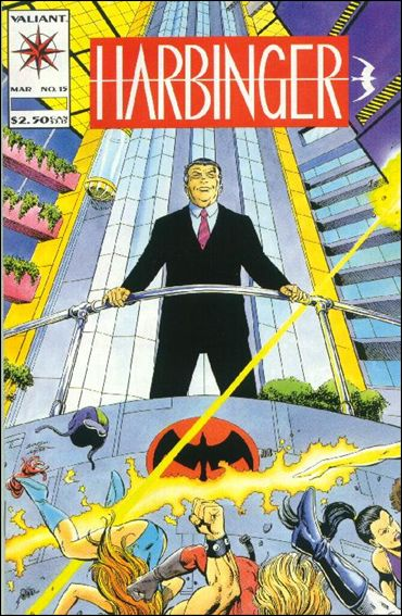 Harbinger (1992) 15-A by Valiant