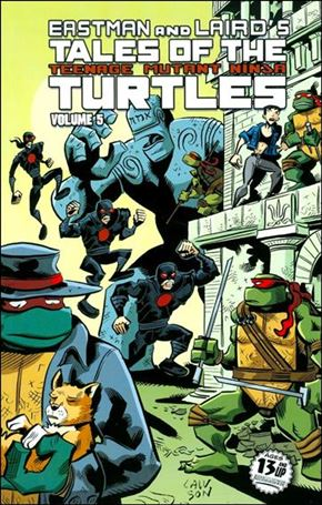 Tales of the Teenage Mutant Ninja Turtles (2012) 5-A
