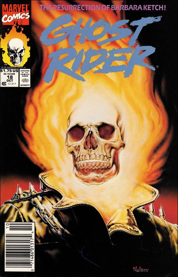 Ghost Rider (1990) 18-A by Marvel