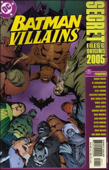 Batman Villains: Secret Files and Origins 2005-A by DC