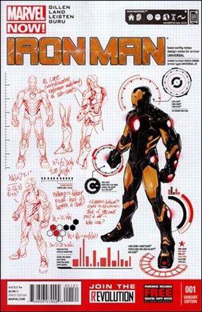Iron Man (2013) 1-B