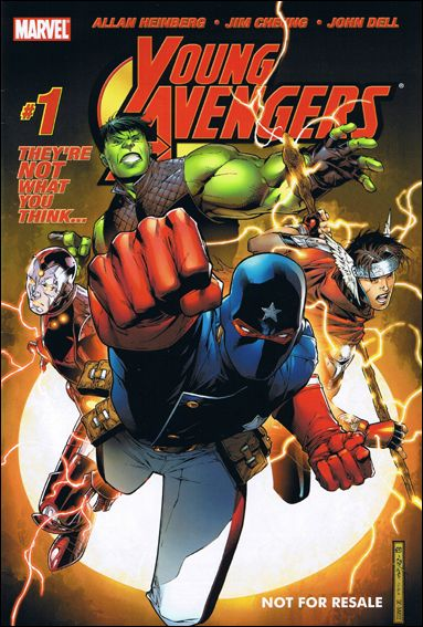 Young Avengers (2005) 1-D by Marvel