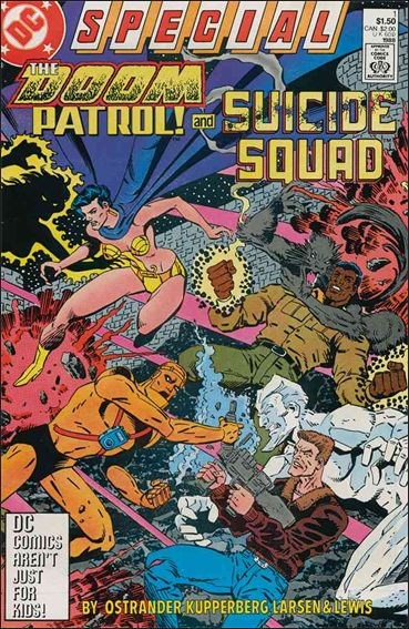 Doom Patrol and Suicide Squad Special 1-A by DC