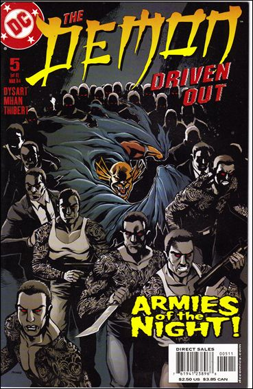 Demon: Driven Out 5-A by DC