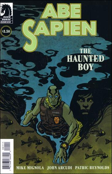 Abe Sapien: The Haunted Boy 1-A by Dark Horse