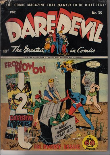 Daredevil (1941) 35-A by Lev Gleason Productions