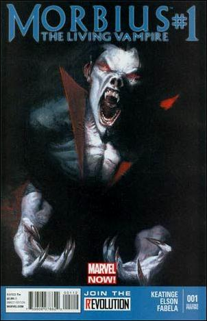 Morbius: The Living Vampire (2013) 1-E by Marvel