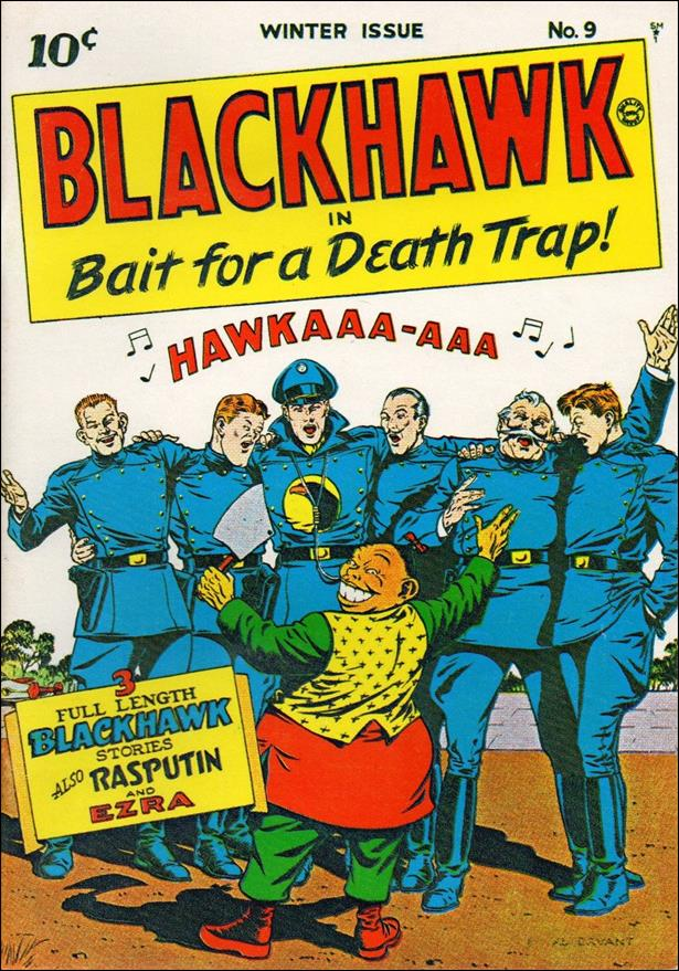 Blackhawk (1944) 9-A by DC
