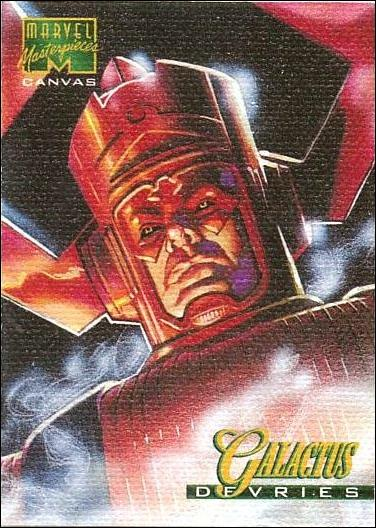 1995 Marvel Masterpieces (Canvas Subset) 6-A by Fleer