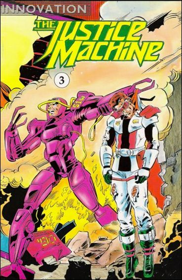 Justice Machine (1990) 3-A by Innovation