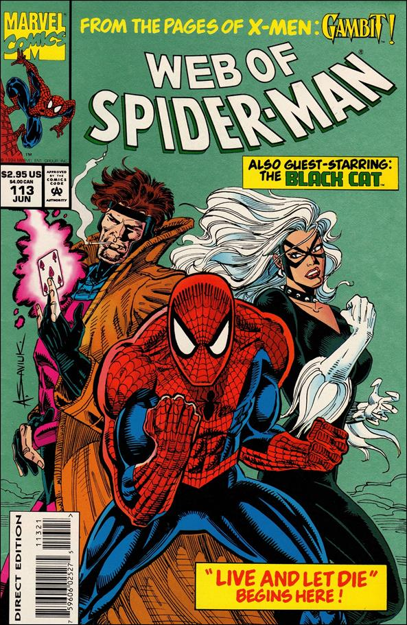 Web of Spider-Man (1985) 113-B by Marvel