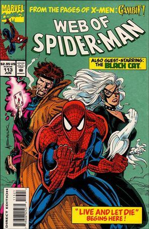 Web of Spider-Man (1985) 113-B