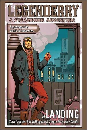 Legenderry: A Steampunk Adventure 5-D