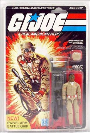 "G.I. Joe: A Real American Hero 3 3/4"" Basic Action Figures Doc (Medical Officer)"