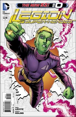 Legion of Super-Heroes (2011) 0-A