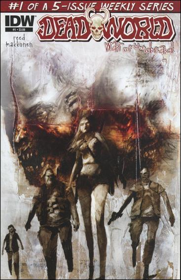 Deadworld: War of the Dead 1-A by IDW