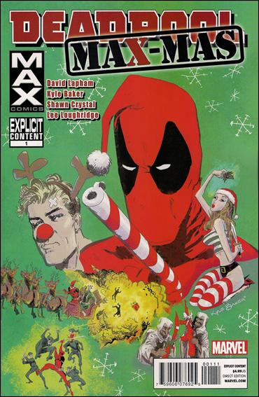 Deadpool Max X-Mas Special 1-A by Max