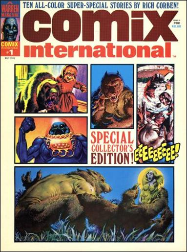 Comix International 1-A by Warren
