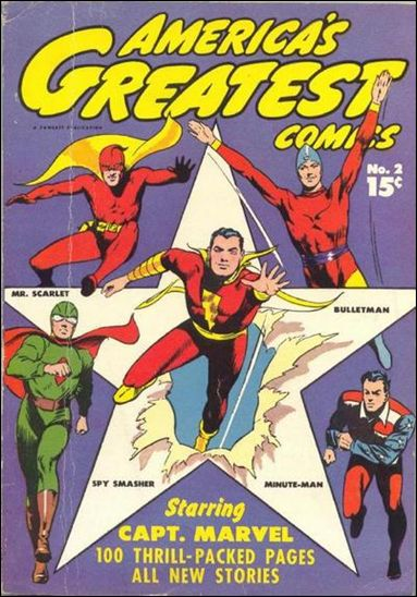 America's Greatest Comics (1941) 2-A by Fawcett