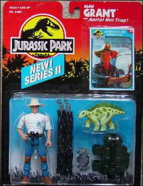 Jurassic Park (Movie) Action Figures Alan Grant (Aerial Net) (Series 2) by Kenner