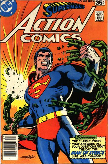 Action Comics (1938) 485-A by DC