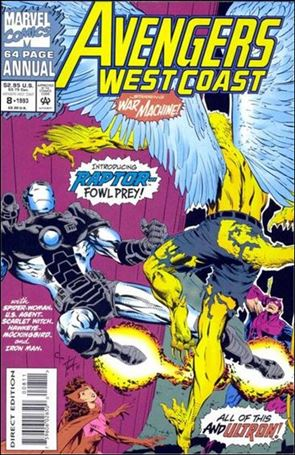 Avengers West Coast Annual 8-B