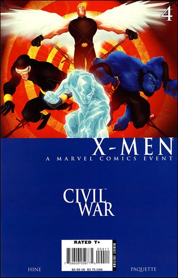 Civil War: X-Men 4-A by Marvel