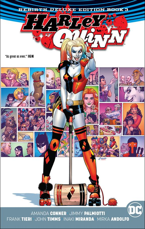Harley Quinn: Rebirth Deluxe Edition 3-A by DC