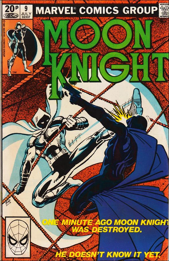 Moon Knight (1980) 9-B by Marvel