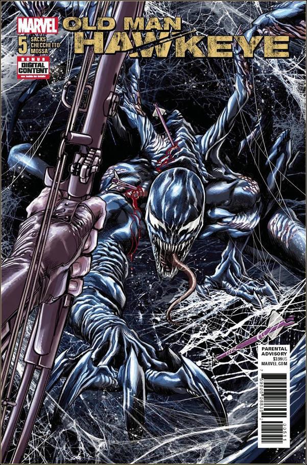 Old Man Hawkeye 5-A by Marvel