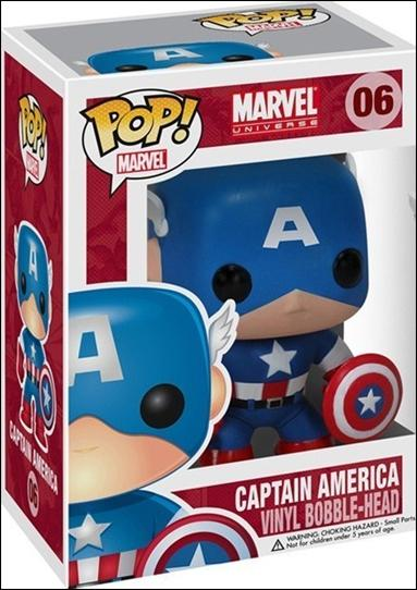 POP! Marvel Captain America by Funko