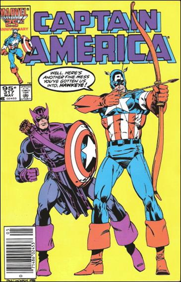 Captain America (1968) 317-B by Marvel