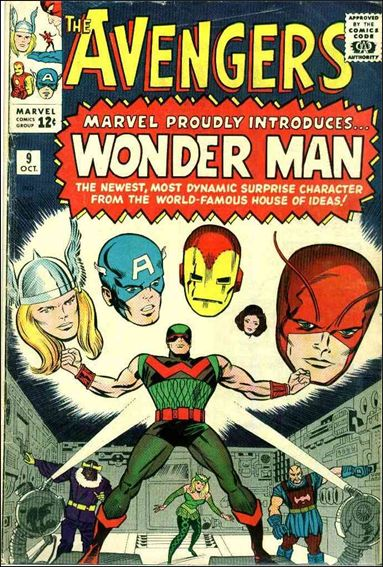 Avengers (1963) 9-A by Marvel