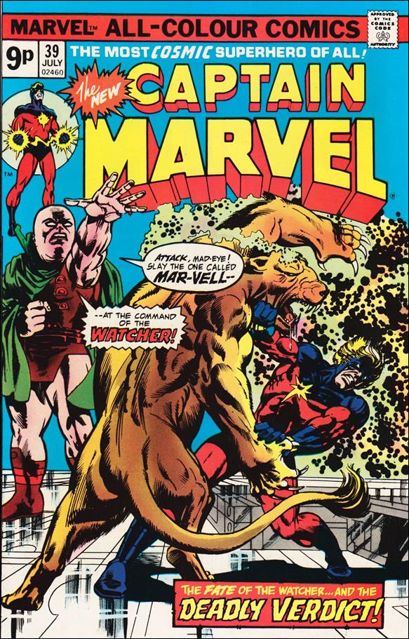 Captain Marvel (1968) 39-B by Marvel