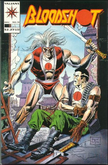 Bloodshot (1993) 11-A by Valiant