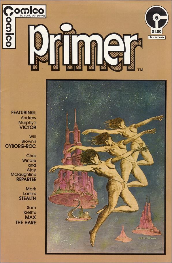 Primer (1982) 5-A by Comico