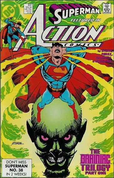 Action Comics (1938) 647-A by DC