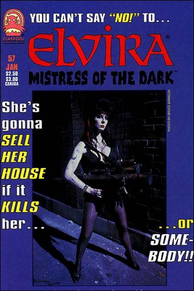 Elvira, Mistress of the Dark (1993) 57-A by Claypool