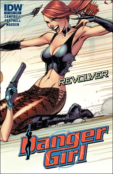 Danger Girl: Revolver 4-A by IDW