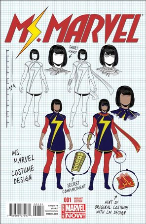Ms. Marvel (2014)  1-D