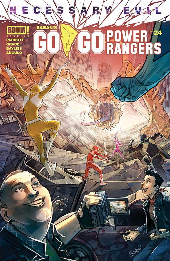 Saban's Go Go Power Rangers 24-A by Boom! Studios