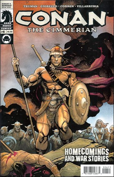 Conan the Cimmerian 6-A by Dark Horse